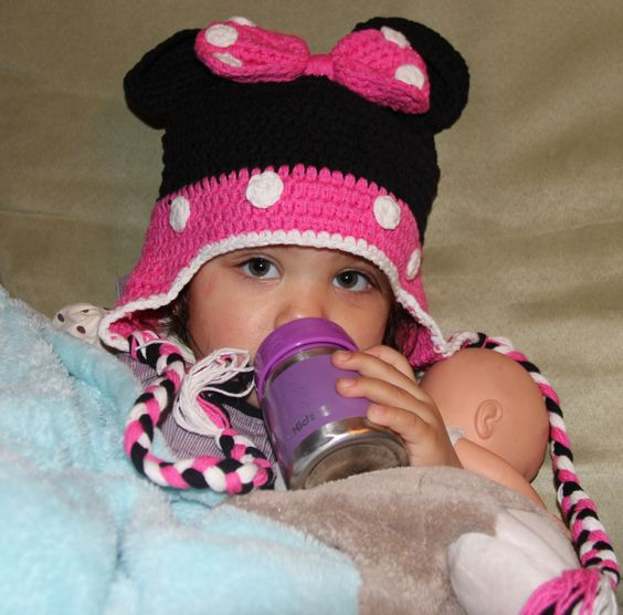 Minnie Mouse (Pink) Beanie...