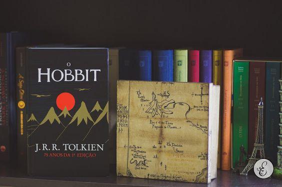 O Hobbit (J. R. R. Tolkien), da Editora WMF Martins Fontes. Estante de Luxo www.estantedeluxo.com.br