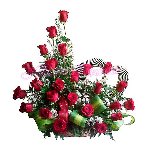 Arreglo Florale Rosas Rojas | Feliz a tu lado R-138 | Abita's Flowers