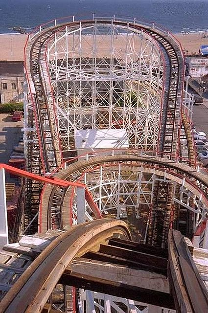 NYC. Brooklyn. Coney Island Cyclone: Plan for the summer now and enjoy some primo roller-coaster parks. They're all over the place.