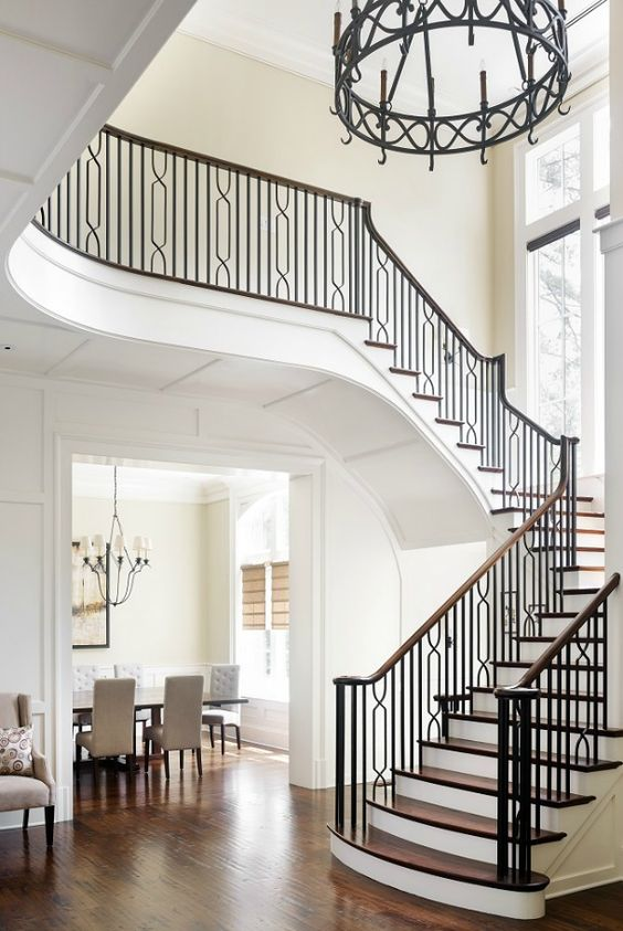 Whether or not one prefers to take the stairs, we can all appreciate the virtues of a stunning staircase.