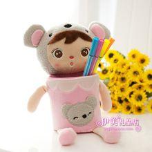 Stationery angela doll cartoon pen holder penholder cell phone holder(China (Mainland))