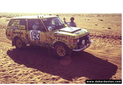 Témoignage Dakar 80: Range n°193 - Dakardantan