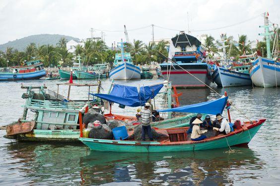 Fishing Boats #fishingboats #vietnam #phuquoc #amazing #leisure #holiday #greatdestinations #salindaresort