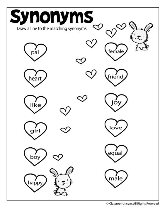 Worksheets Fun Reading Worksheets free worksheets fun reading printable antonyms and synonyms synonym worksheet