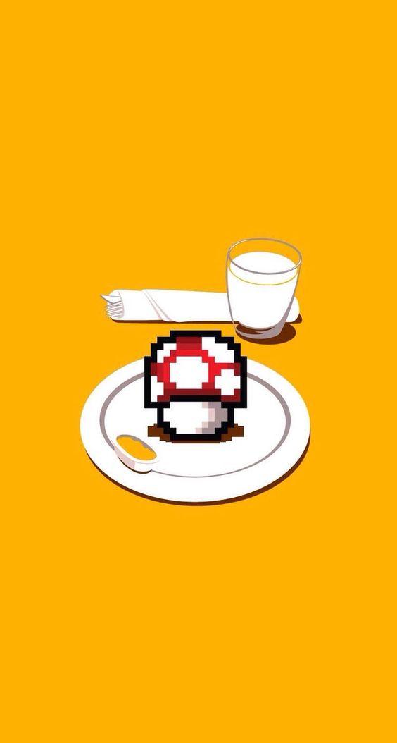 Super Mario  . Mushroom