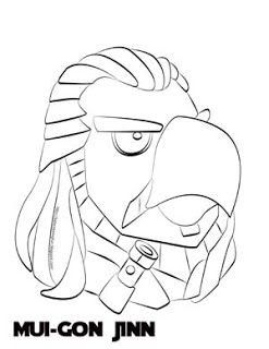 Angry Birds Star Wars Colouring Pages To Print