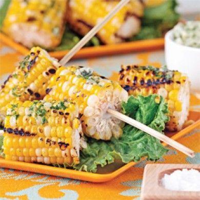 Maïs grillés sur brochettes - Entrées et soupes - Recettes 5-15 - Recettes express 5/15 - Pratico Pratique