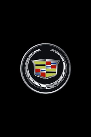 cadillac iphone wallpapers and logos on pinterest