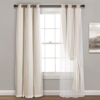 Ophelia Co Busselton Blackout Thermal Grommet Curtain Panels