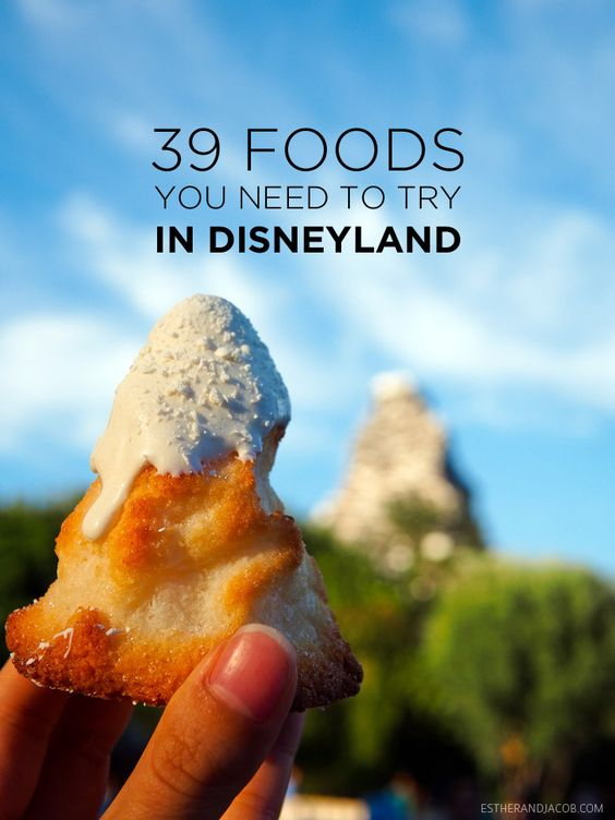We compiled a list of the 39 of the best disneyland food to put on our disney bucket list.