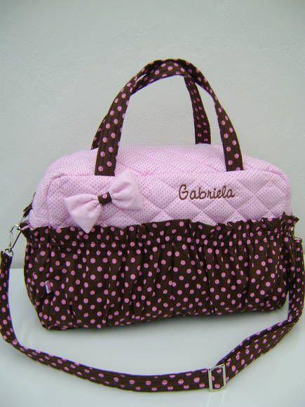 Bolsa Para Levar Cao : Porta de maternidade rosa e marrom logos