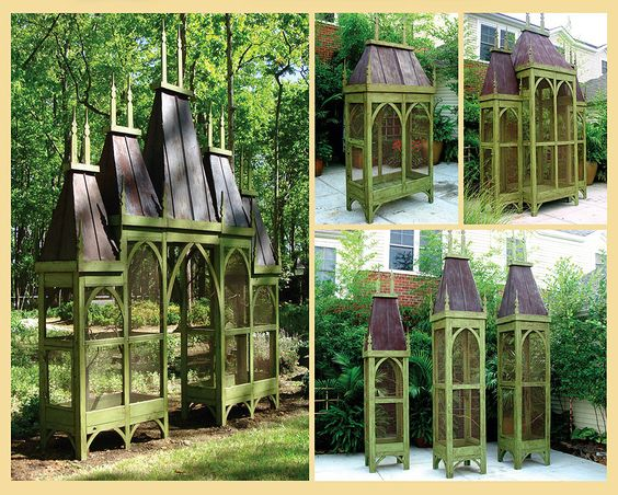 custom aviaries--- gorgeous