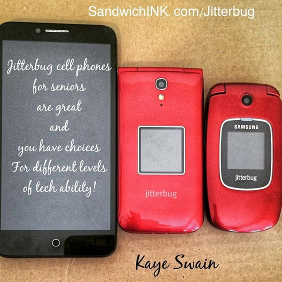 My sweet senior mom has used one of the simple Jitterbug cell phones for seniors…