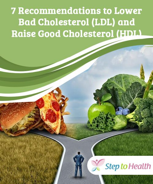7 Recommendations To Lower Bad Cholesterol Ldl And Raise Good Cholesterol Hdl Cholesterol Lowering Foods What Causes High Cholesterol Low Cholesterol Diet