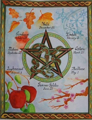 Sabbats - Pinned by The Mystic's Emporium on Etsy