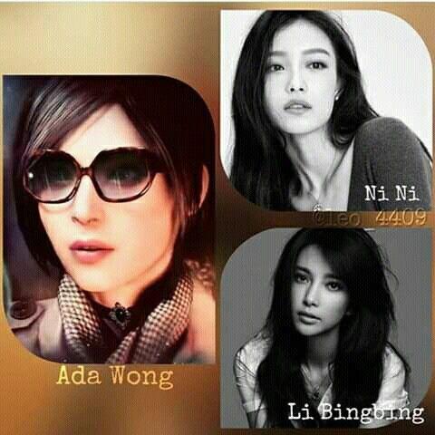 Ada Wong Face Model Re2r