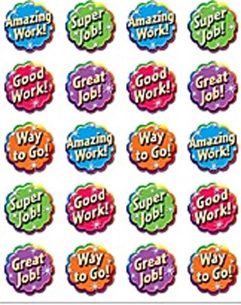 Good Work Sticker (Set of 4)