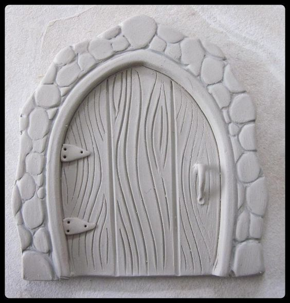 Pinterest the world s catalog of ideas How to make a fairy door out of clay