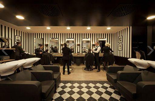 Barber shop interior design ideas salon pinterest for Barber shop interior designs ideas