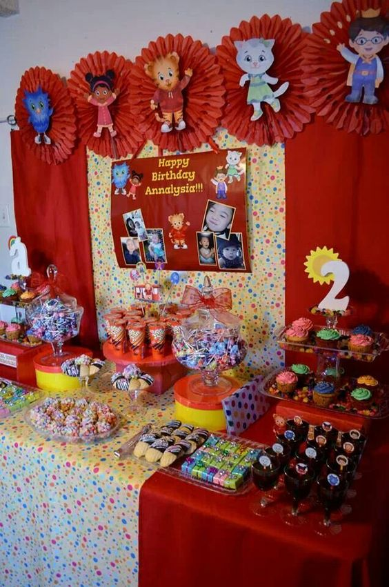 Dessert Table Candy Bar Annalysia S Daniel Tiger S