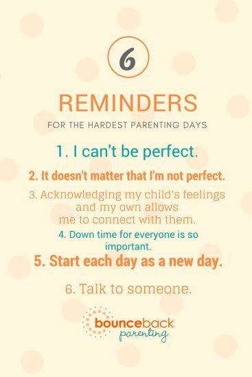 Parenting Reminder for hard days