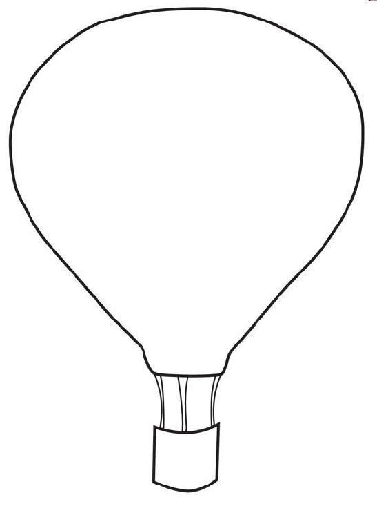 Zwitschern Balloon Template Hot Air Balloon Hot Air Balloons Art