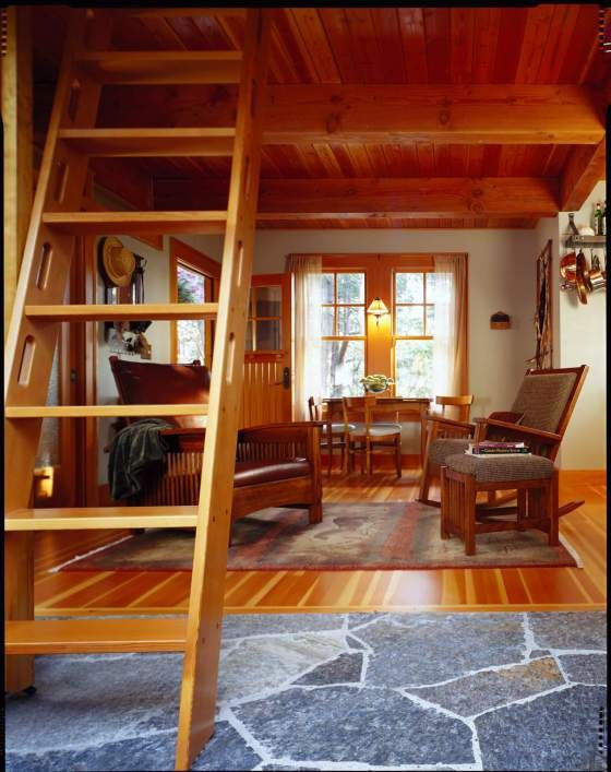 Shed Roof Cabin With Loft Plans