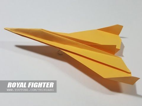How To Make A Paper Airplane Best Plane That Flies Fast