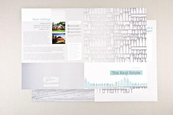 Illustrative Real Estate Newsletter Template - This graphic and - real estate newsletter template