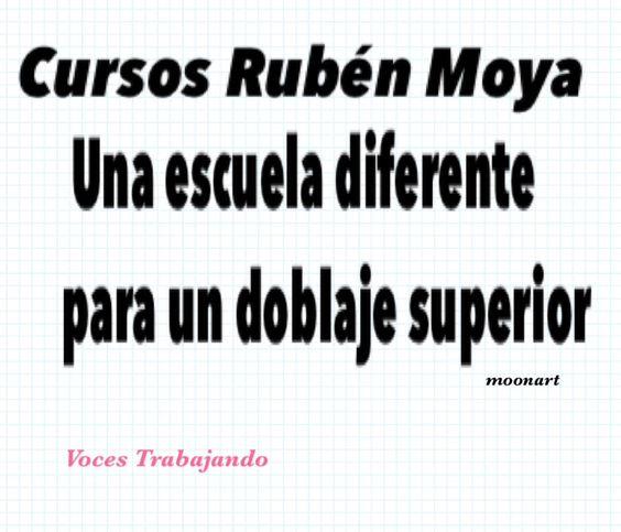 #RubénMoya  #AunqueUstedNoLoCrea #MitrabajoMipasión #CursodeDoblaje  #doblajeylocución #VocesTrabajando
