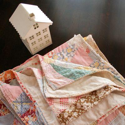 vintage quilt ~ i heart linen