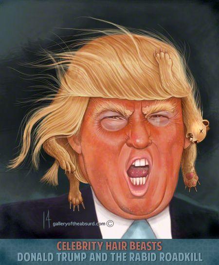 Celebrity Hair Beasts: Donald Trump
