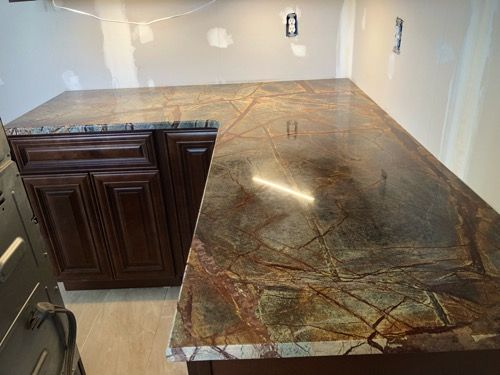 Granite Countertop Warehouse Offers Discounted Granite And Fabrication Including Granite Slabs Backsplashes And Design For Kitchen And Engineered Stone Countertops Custom Countertops Granite Countertops