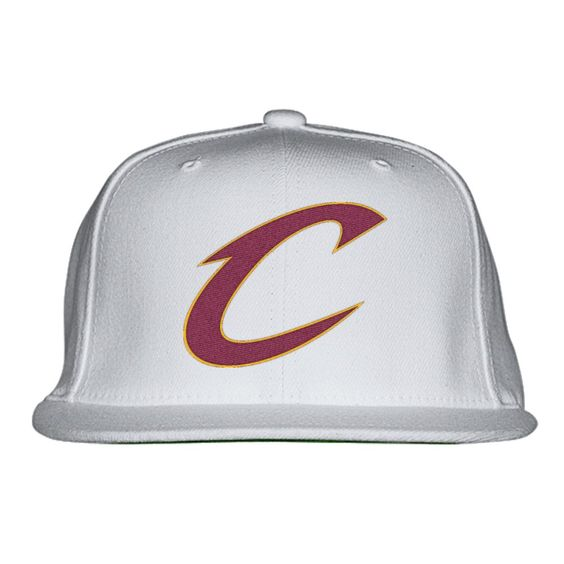 Cavs Embroidered Snapback Hat