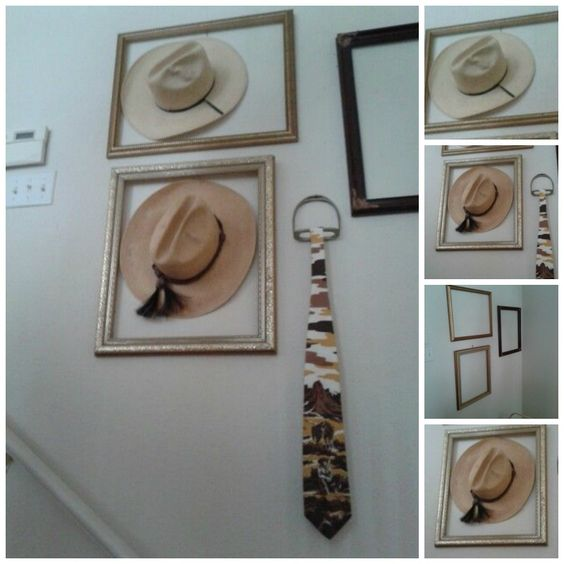 Hat Wall Collage: