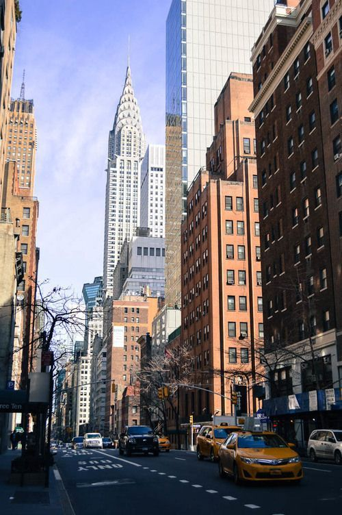Things to see in New York City: The Chrysler Building New York NYC New York City Travel Honeymoon Backpack Backpacking Vacation Budget Off the Beaten Path Wanderlust The greatest idea for room decoration, make poster or wallpaper with this picture. #wallpaper #poster #posterdesign #posteridea #postersideas