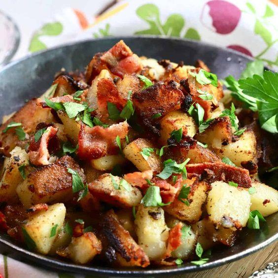 Easy Crispy Southern Fried Potatoes