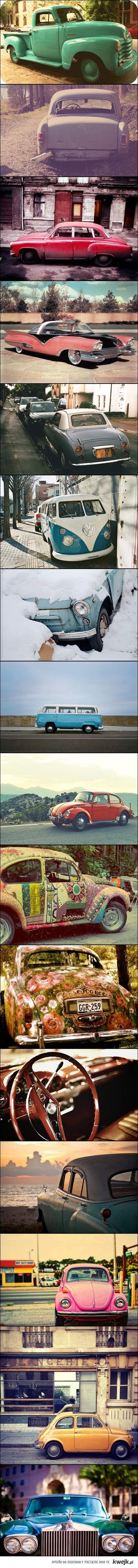 Old school cars are so awesome!