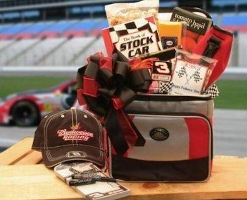 NASCAR Racing Fan Holiday Gift Basket