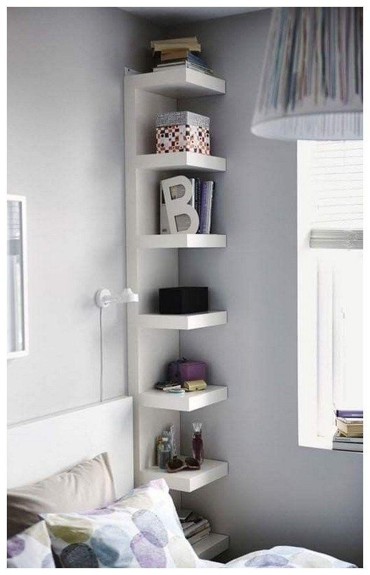 46 Amazing Ikea Hacks To Decorate On A Budget Homedecorideas Decorateonabudget Homedecor Small Space Storage Bedroom Small Room Design Small Bedroom Designs