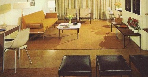 1960s interior design.