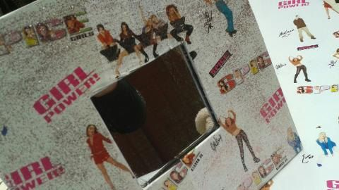 Spice Girls Handcrafted Mod Podge Glittered Hanging by SylviaJulie