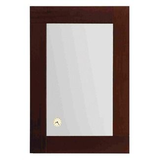 Whitehaus Collection Antonio Miro Rectangular Mirror Vertically with Wood Frame