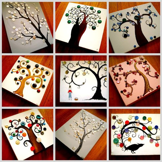 bird & tree swirls