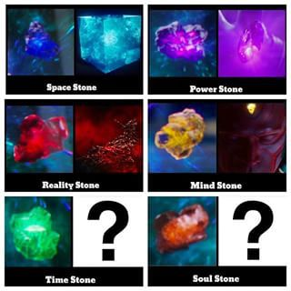 Marvel Infinity stones and where they came from