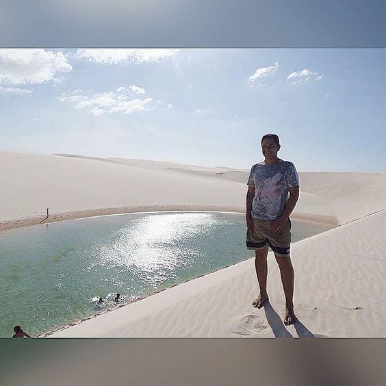 Hobby predileto meu e da minha esposa: Viajar!  Essa foi uma de muitas que ainda teremos se Deus nos permitir.  Os Lençóis Maranhenses é um espetáculo da natureza no nordeste do Brasil, abençoando o Maranhão com tamanha beleza.  #LençóisMaranhenses #Maranhão #Nordeste #Natureza #Viagem #Hobby #HobbyDoCasal #Cultura #Conhecimento #Experiências #Barreirinhas #ParqueNacionalDosLençóisMaranhenses #Preservação