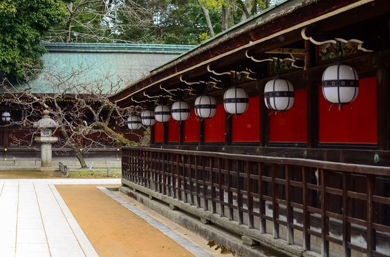 社殿 - 北野天満宮 / Kitano Tenman-gu Shrine