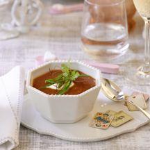 Tomatencappuccino mit Wodkacreme PP 3