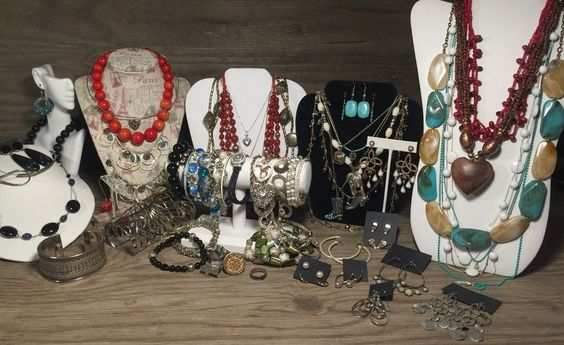 SOUTHWESTERN Jewelry Lot, Vintage Southwest 70PCs, 925, Premier Designs MSCO…